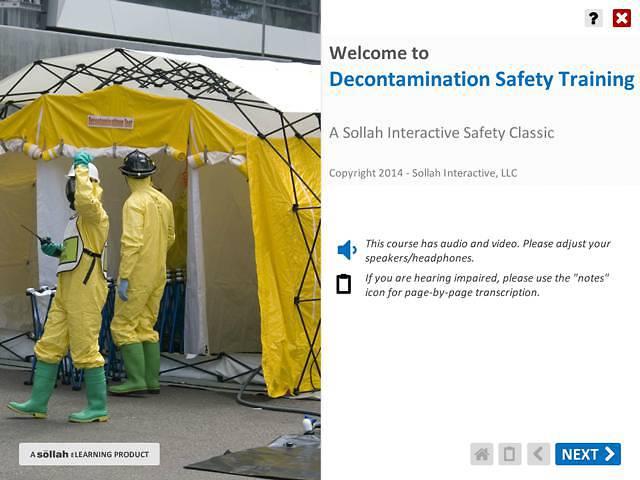 Decontamination Safety Training™