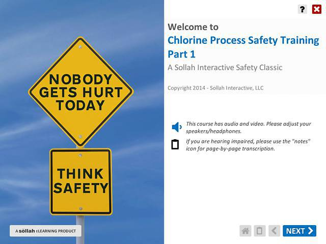 Chlorine Process Safety Training™ - Part 1