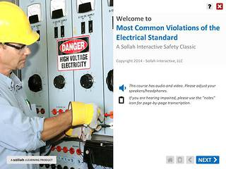 Most Common Violations of the Electrical Standard™