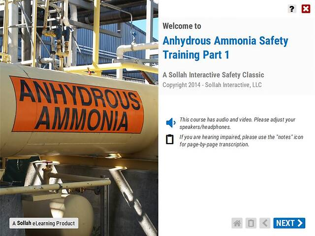 Anhydrous Ammonia Safety Training™ - Part 1