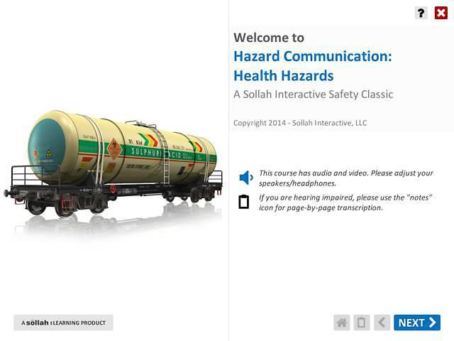 Hazard Communication: Health Hazards™
