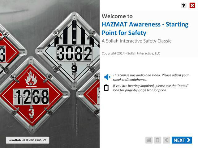 HAZMAT Awareness - Starting Point for Safety™
