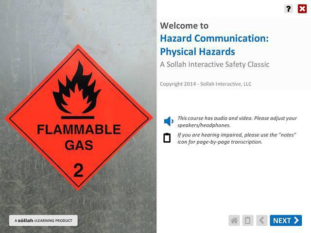 Hazard Communication: Physical Hazards™