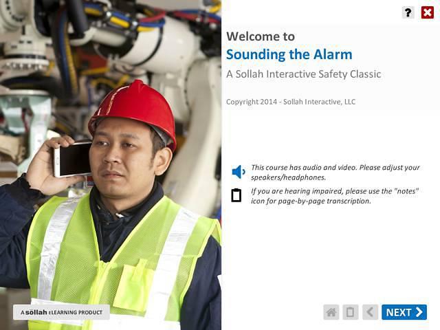 Sounding the Alarm™