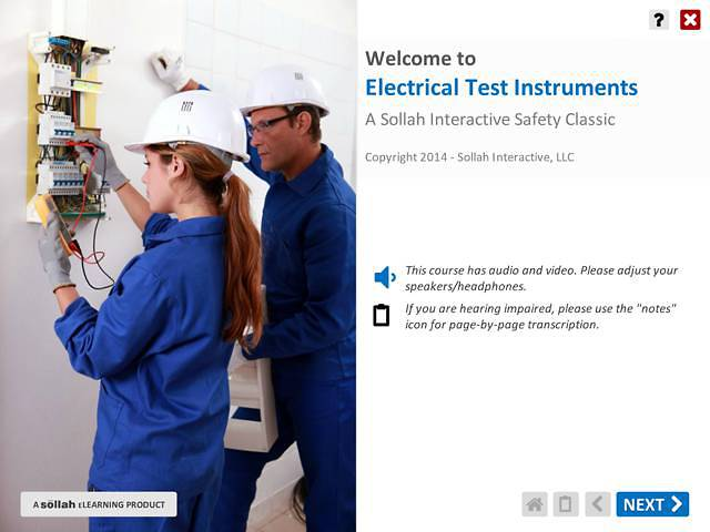 Electrical Test Instruments™