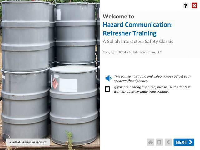 Hazard Communication: Refresher Training™