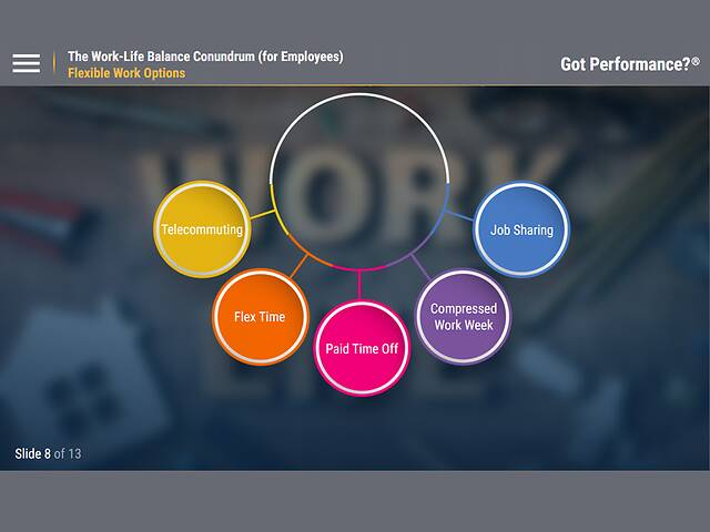 Got Performance?™ The Work-Life Balance Conundrum (for Employees)™
