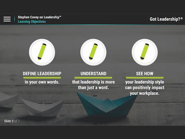 Got Leadership?™ Stephen Covey on Leadership™