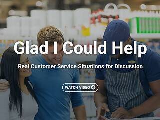 Glad I Could Help: Real Customer Service Situations for Discussion™ - Video Course