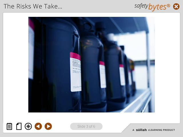 SafetyBytes® - Smoking and the Improper Storage of Chemicals