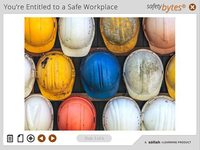 SafetyBytes® - Head Protection (Wearing PPE)