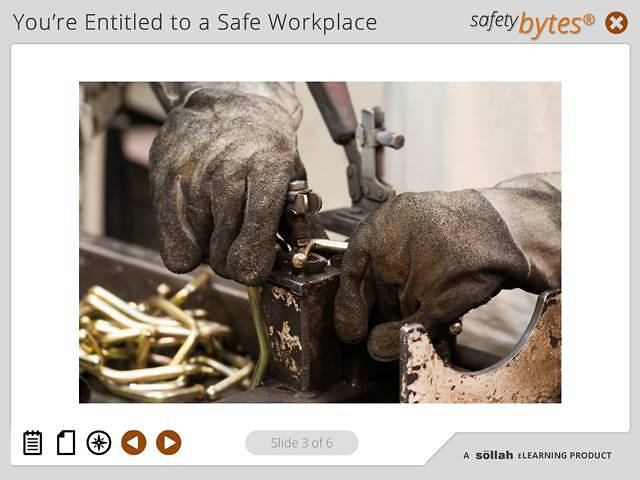SafetyBytes® - Hand Protection  (Wearing PPE)