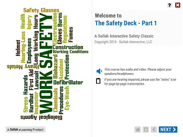 The Safety Deck™ (Part 1)