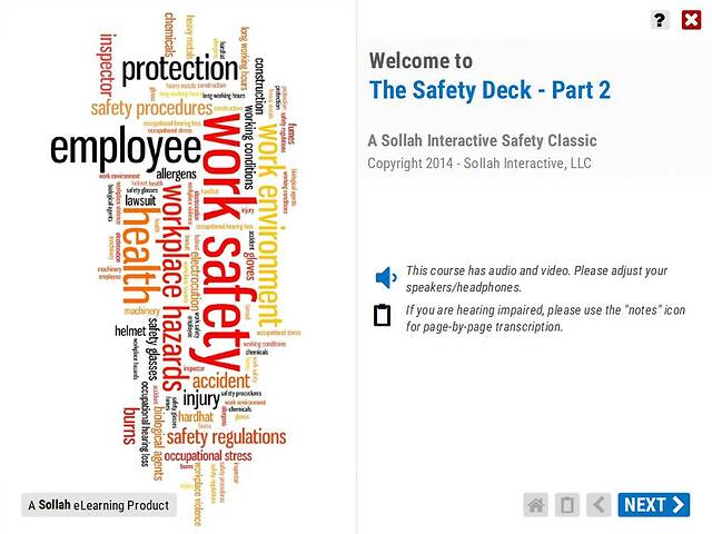 The Safety Deck™ (Part 2)