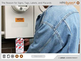 SafetyBytes® - Accident Prevention Tags