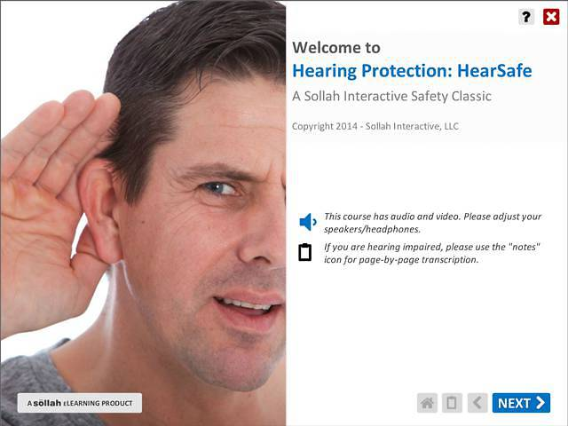 Hearing Protection: HearSafe™