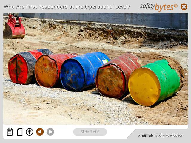 SafetyBytes® - Responding to Corrosive Spills (Operational Level)