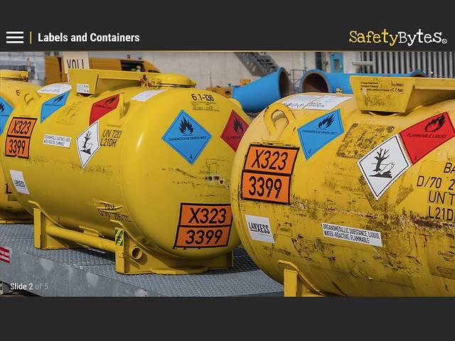 SafetyBytes® - Warning Signs of Hazardous Materials