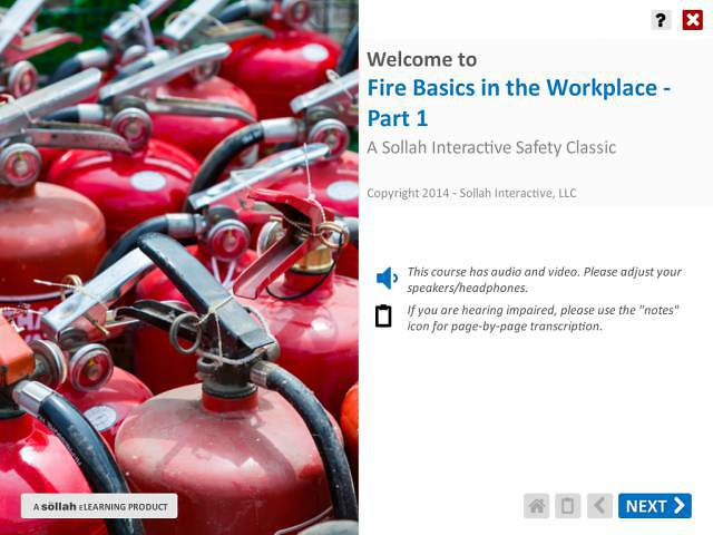 Fire Basics in the Workplace™ - Part 1