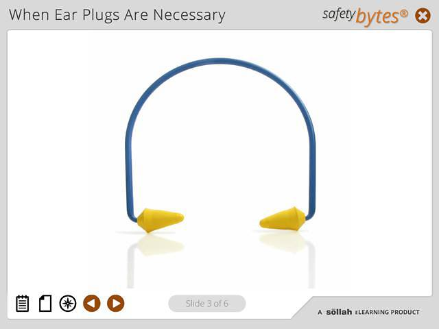 SafetyBytes® - Using Banded Ear Plugs