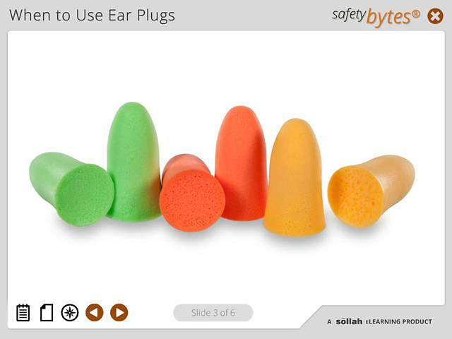 SafetyBytes® - Using Disposable Ear Plugs