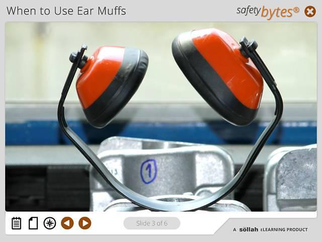 SafetyBytes® - Using Ear Muffs