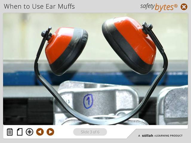 SafetyBytes® - Using Ear Muffs