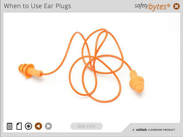 SafetyBytes® - Using Reusable Ear Plugs