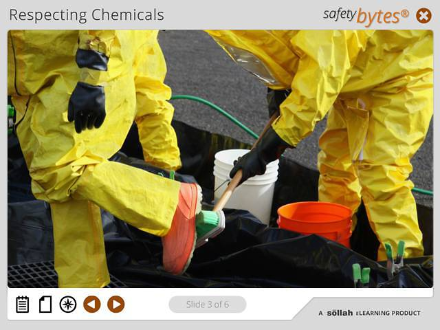 SafetyBytes® - Responding to a Direct Chemical Spill