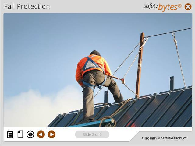 SafetyBytes® - Using a Horizontal Lifeline