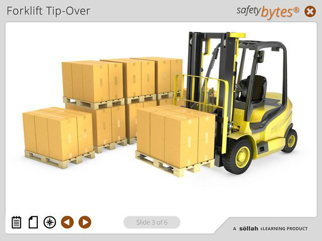 SafetyBytes® - Forklift Stability (Preventing Tip-Overs)
