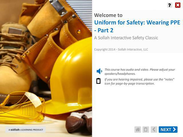 Uniform for Safety: Wearing PPE™ - Part 2