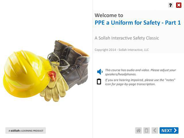 Uniform for Safety: Wearing PPE™ - Part 1