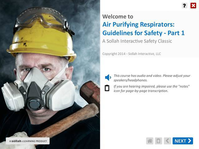 Air Purifying Respirators: Guidelines for Safety™ - Part 1