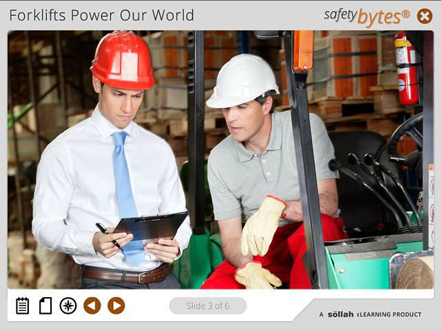 SafetyBytes® - Forklift Safety Parking