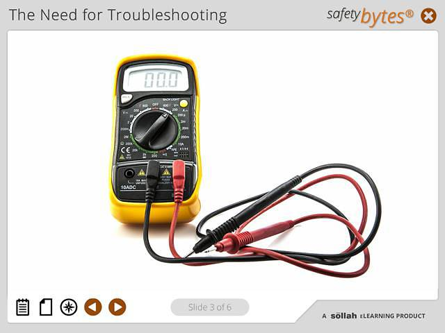 SafetyBytes® - Using the Volt Meter