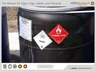 SafetyBytes® - DOT/HM-181 Labels and Placards