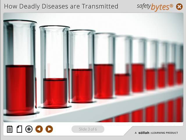 SafetyBytes® -Bloodborne Diseases: Handling Specimens