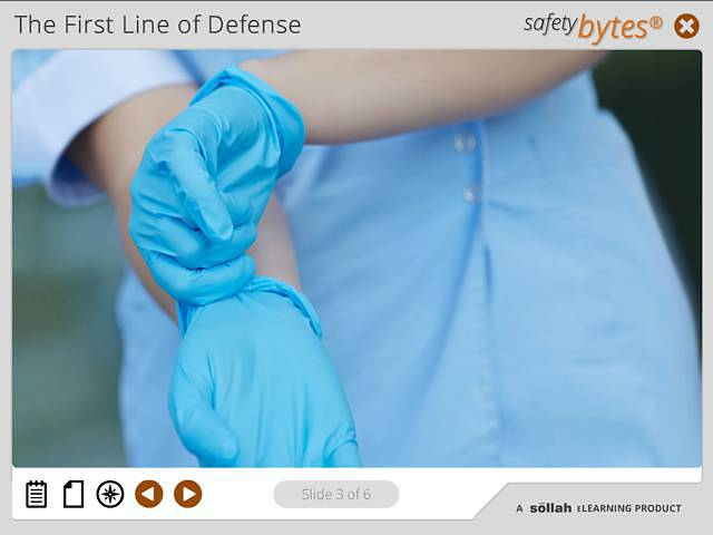 SafetyBytes® - Bloodborne Diseases: Proper Washing
