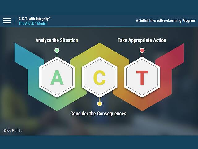 A.C.T. with Integrity™: Real Situations for Discussions
