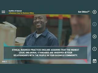 Got Ethics?® Conflict of Interest