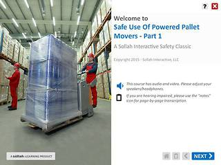 Safe Use of Powered Pallet Movers™ - Part 1