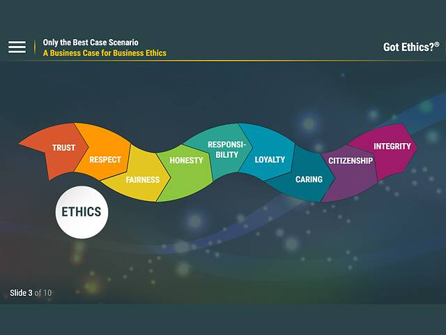 Got Ethics?® Only The Best Case Scenario