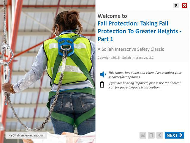 Taking Fall Protection to Greater Heights™ - Part 1