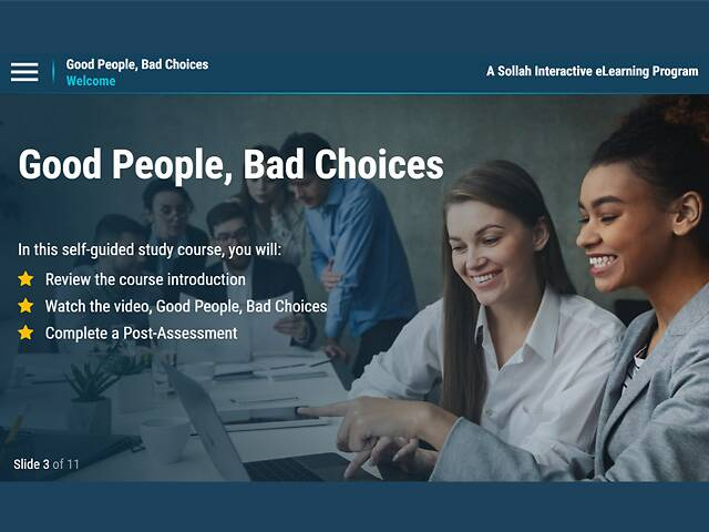 Good People, Bad Choices - eLearning Classic