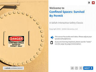 Confined Spaces: Survival by Permit™