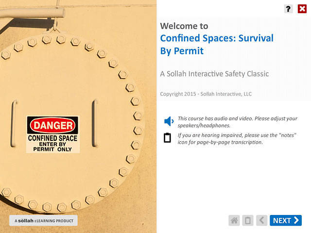 Confined Spaces: Survival by Permit™