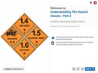 Understanding The Hazard Classes™ - Part 2