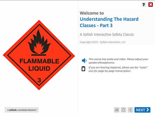 Understanding The Hazard Classes™ - Part 3