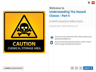 Understanding The Hazard Classes™ - Part 4